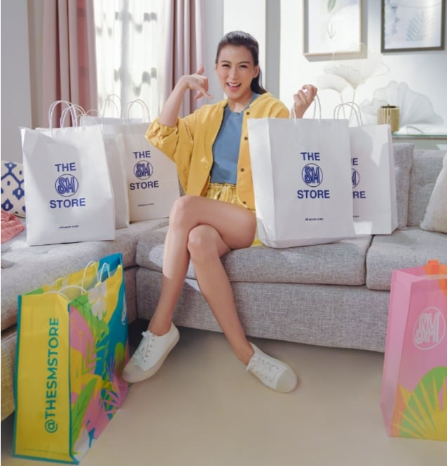 Alex Gonzaga Is The Newest Brand Ambassador For The SM Store's Call To Deliver #143SM