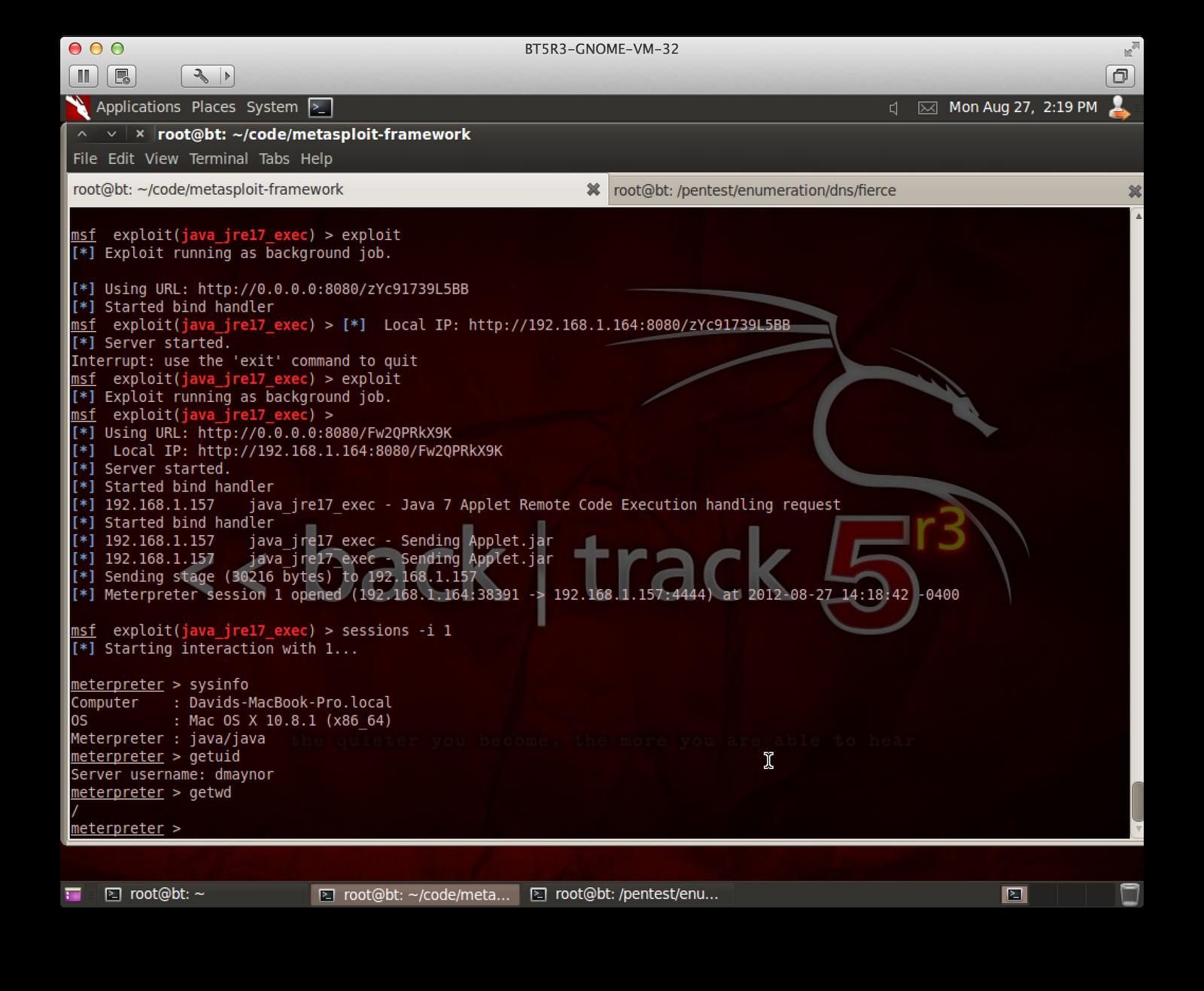 Errata Security: New Java 0day