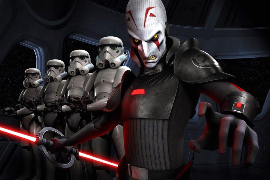 Sith Inquisitor în Star Wars Rebels