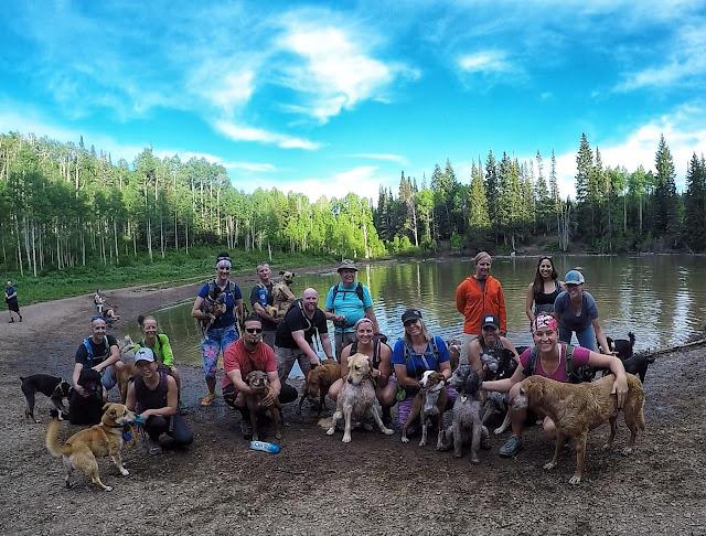 Hiking to Dog Lake, Millcreek Canyon