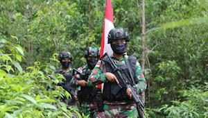 Jaga Perbatasan, Satgas Yonif 411 Kostrad Giatkan Patroli di Batas Negara