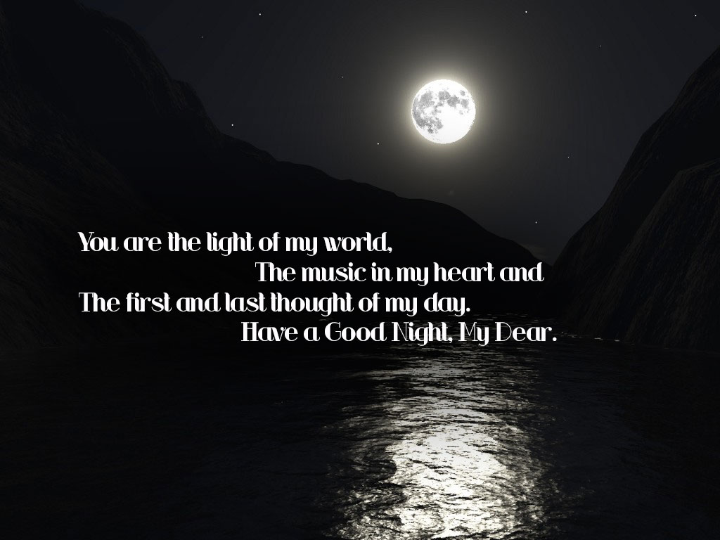 You Are The Light Of My World Nice Picture Quotes