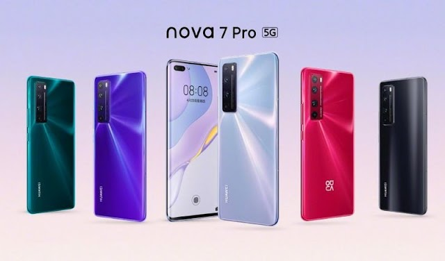 Huawei has launched the Nova 7 Series in China