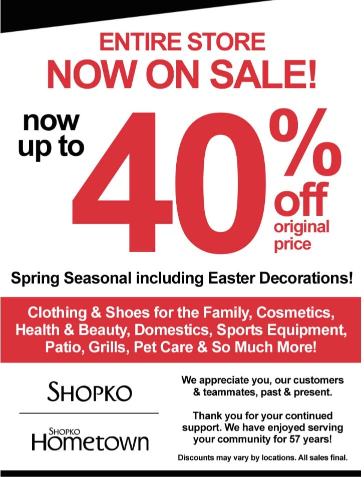 image relating to Shopko 20 Off Printable Coupon named Shopko Weekly Advertisement April 21 - 27, 2019 - Coupon codes and Offers