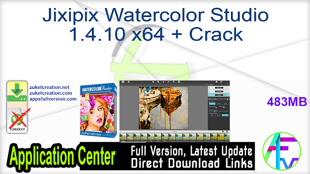 Jixipix Watercolor Studio 1.4.10 x64 + Crack