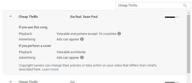 Cara Cek Hak Cipta Lagu di Youtube [THE 330K]