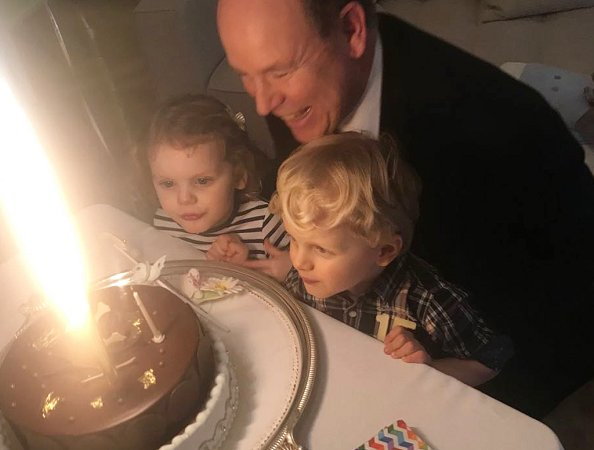 Princess Charlene shared photos her twins Prince Jacques, Princess Gabriella and their father Prince Albert birthday, Happy Birthday Daddy