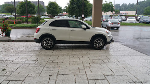 Fiat 500X at Pittsburgh Doubletree