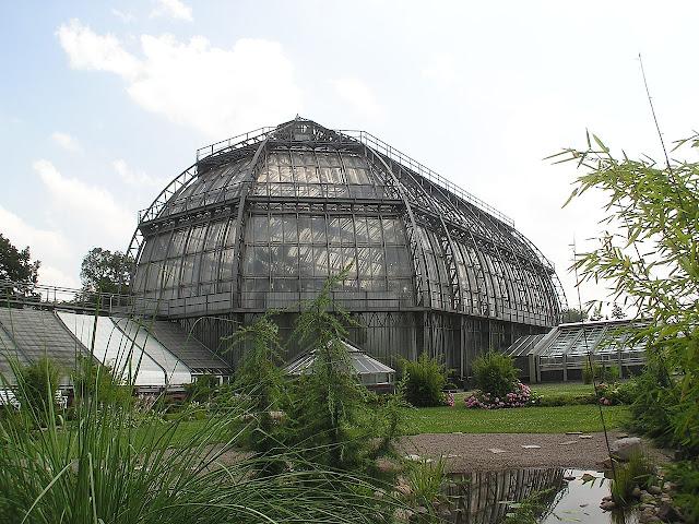 La gran casa tropical del Jardín Botánico de Berlín
