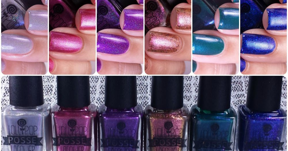 Lollipop Posse Lacquer - Full As Much Heart Collection - Manicured ...