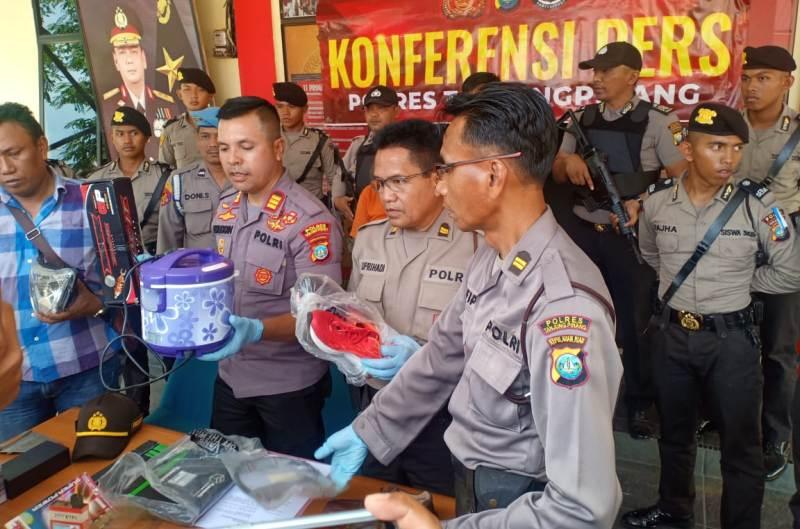 Polsek Tanjungpinang Barat Ungkap Curanmor dan pencurian Dalam Rumah