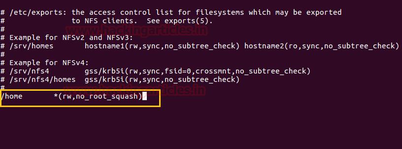 Linux Privilege Escalation using Misconfigured NFS