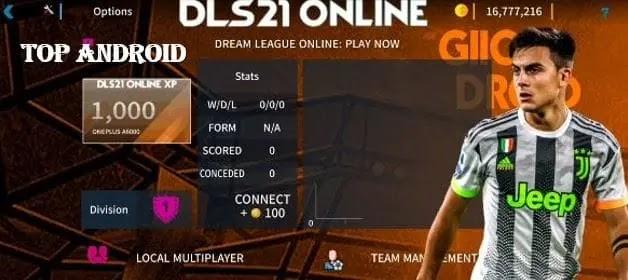 Dream League Soccer 2021 (DLS 21) Mod Apk Obb Download
