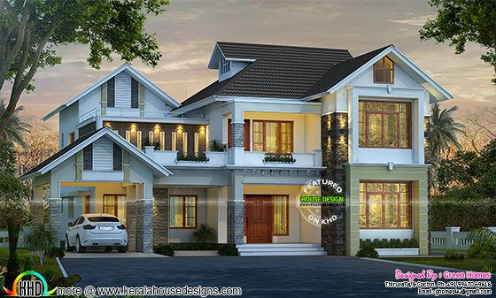 4 bedroom, 2850 sq-ft modern house