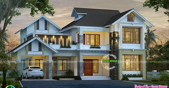 4 bedroom  2850 sq-ft modern house