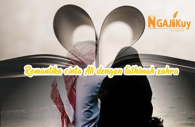 Romantika Cinta Ali dengan Fathimah al-Zahra