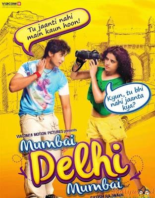 Mumbai Delhi Mumbai 2014 Hindi 720p DVDRip 850mb AC3 5.1