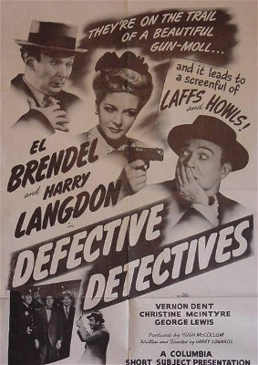 Defective Detectives starring El Brendel, Harry Langdon and Christine McIntyre