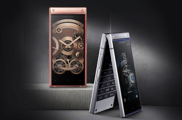 Samsung W2019 Flip Phone Launched with Dual Screens