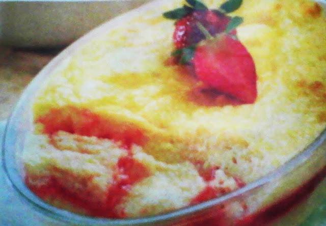 Recipe Strawberry Bread Pudding
