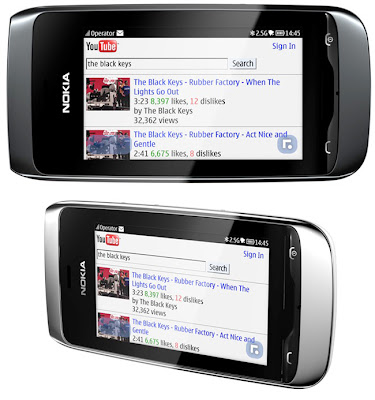 Nokia Asha 309: S40 software