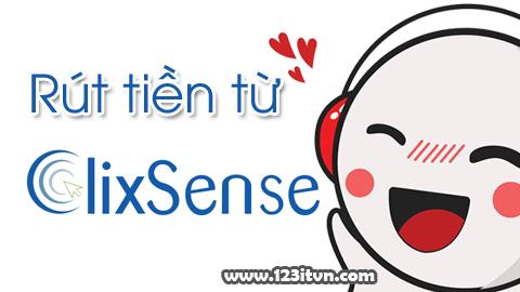 Hướng dẫn rút tiền từ Clixsense
