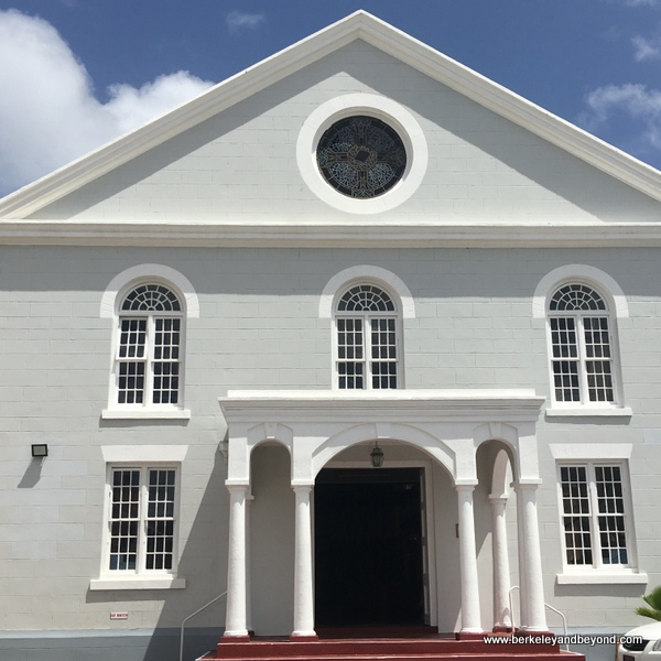 exterior of Bethel Methodist Church in Bridgetown, Barbados