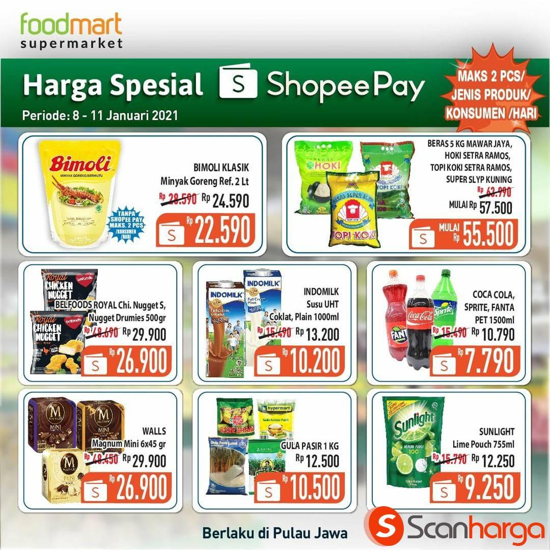 Foodmart Promo Harga Spesial bayar pakai ShopeePay