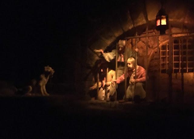 Dog With Keys Scene Pirates of the Caribbean Disneyland