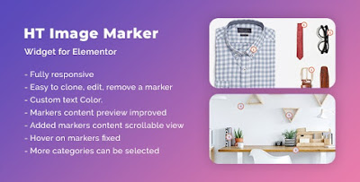 HT Image Marker for Elementor v1.0 WP Plugin