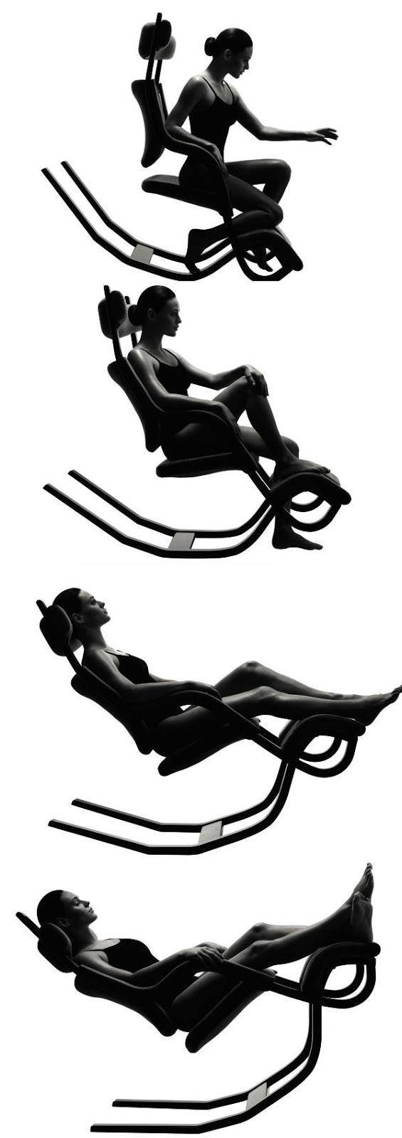 The gravity balans chair by peter opsvik freshersmag - Gravity balans ...