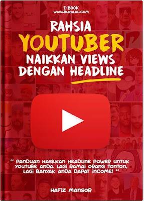 rahsia youtubers naikkan views