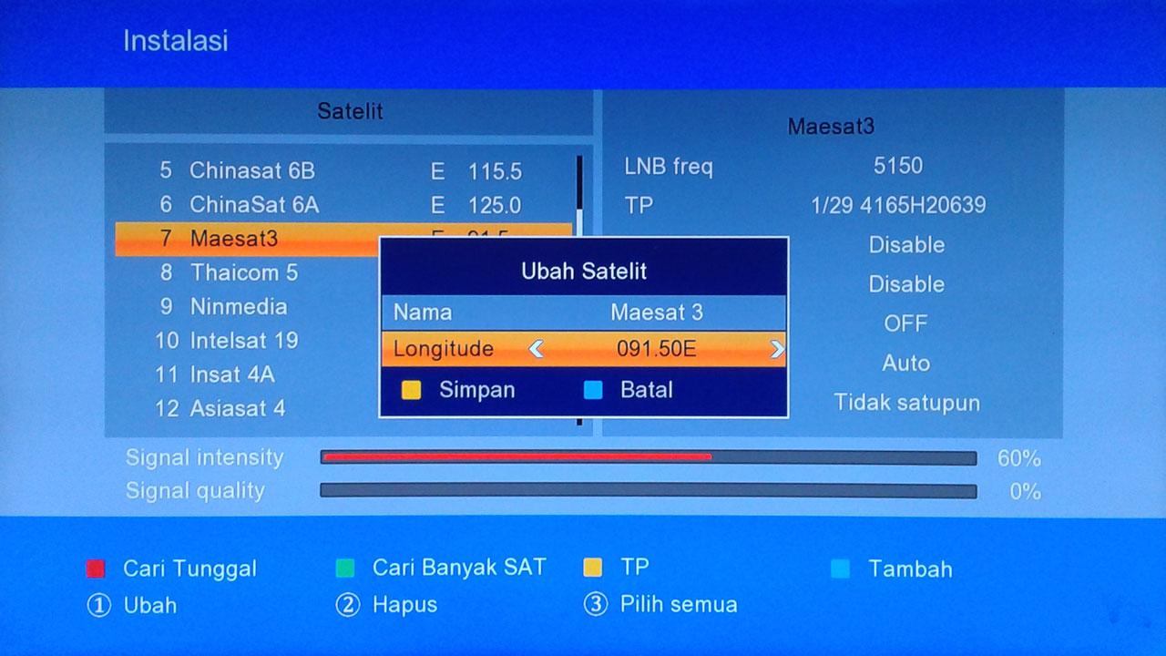 Cara Menggunakan Firmware GSky V5 Membuka Sport 24 PBO