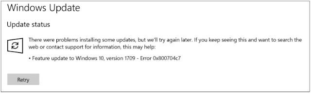 Cara Mengatasi Error 0x800704c7 Pada Windows 7, 8, 8.1 dan 10