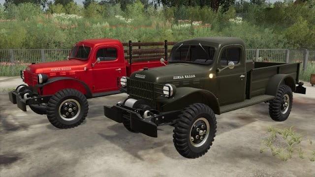 FS19 Dodge Power Wagon 1946 v1.0