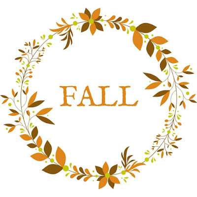 fall monograms free printable