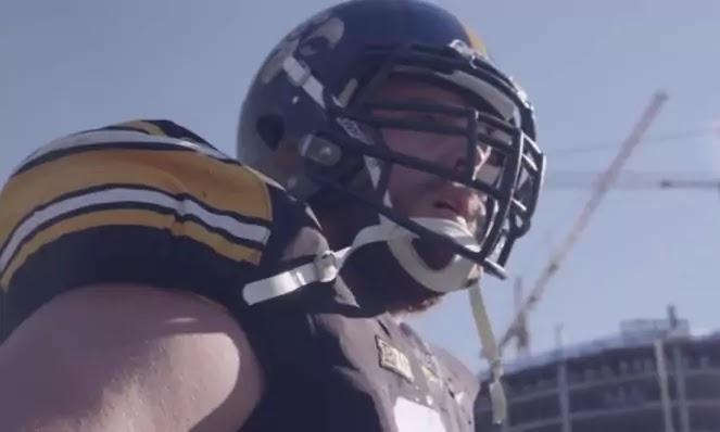 lowa defense Brandon Scherff