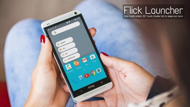 تحميل لانشر Flick Launcher Pro لتغيير شكل الهاتف و تغيير ايقونات الهاتف النسخة المدفوعة 2020