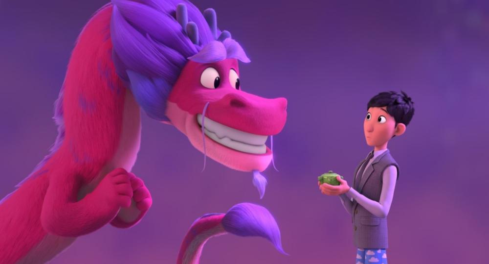 Wish Dragon, Animation, Adventure, Comedy, Family, Fantasy, Movie Review by Rawlins, Rawlins GLAM, Rawlins Lifestyle, Netflix