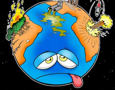 Presenciar a destruição do planeta em que vivemos é muito frustrante
