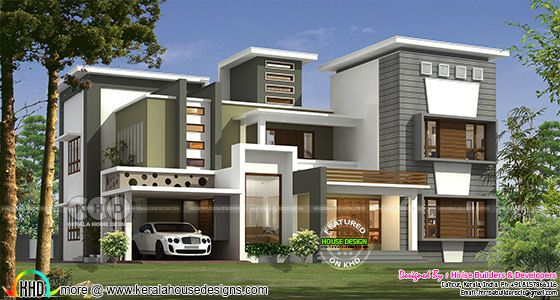 New modern contemporary style 5 bedroom house