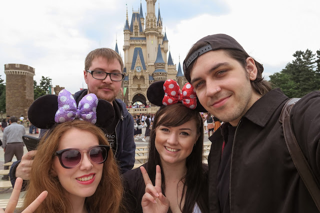 friends at Disney