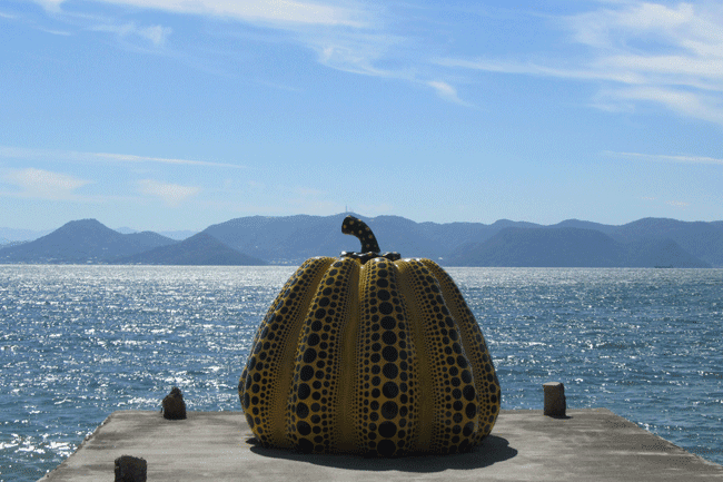 Naoshima Yellow Pumpkin