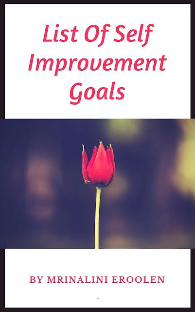Self Improvement Goals