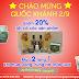 [ Khuyễn Mại ] Chào mừng ngày Quốc Khánh giảm giá 20% tất cả các sản phẩm