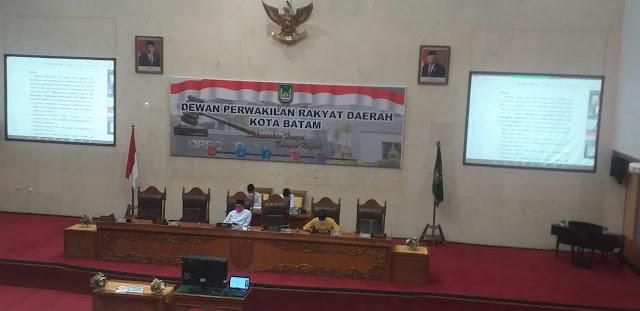 Ini Perubahan Jadwal Pansus Ranperda RPJMD Kota Batam dan Bapemperda Kota Batam