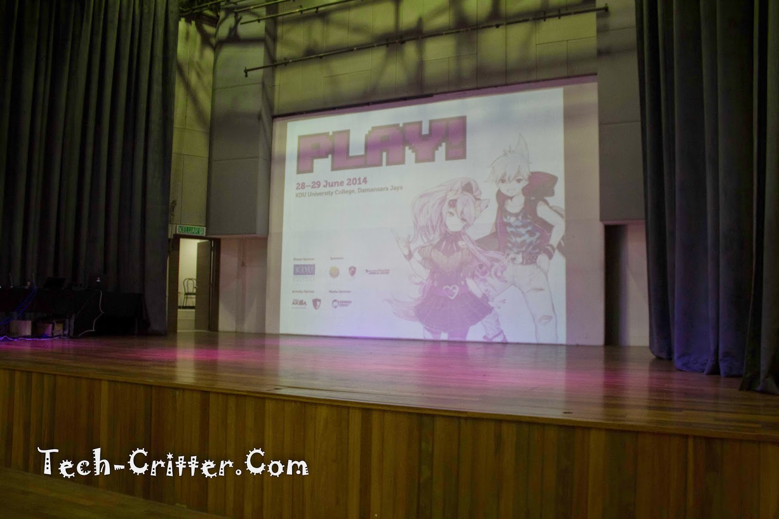 Coverage of PLAY! Convention @ KDU College 214