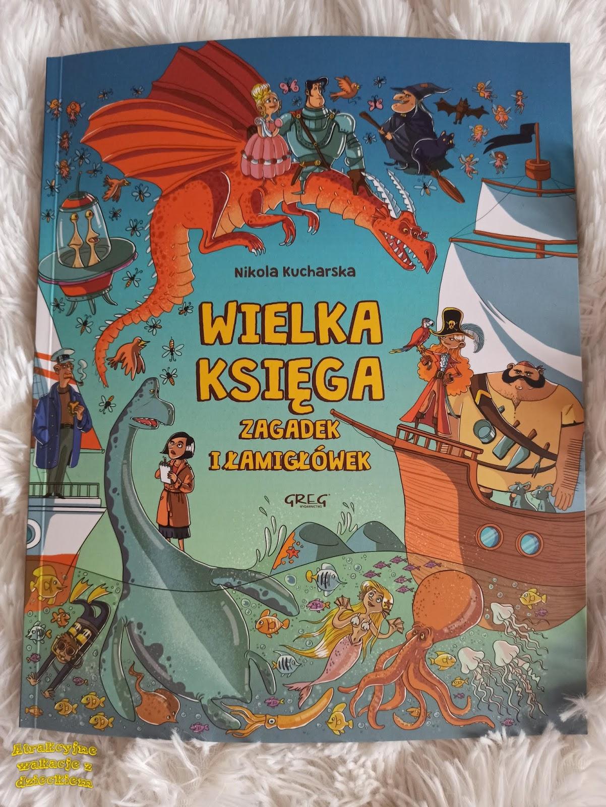 Recenzja książki na blogu Atrakcyjne wakacje z dzieckiem