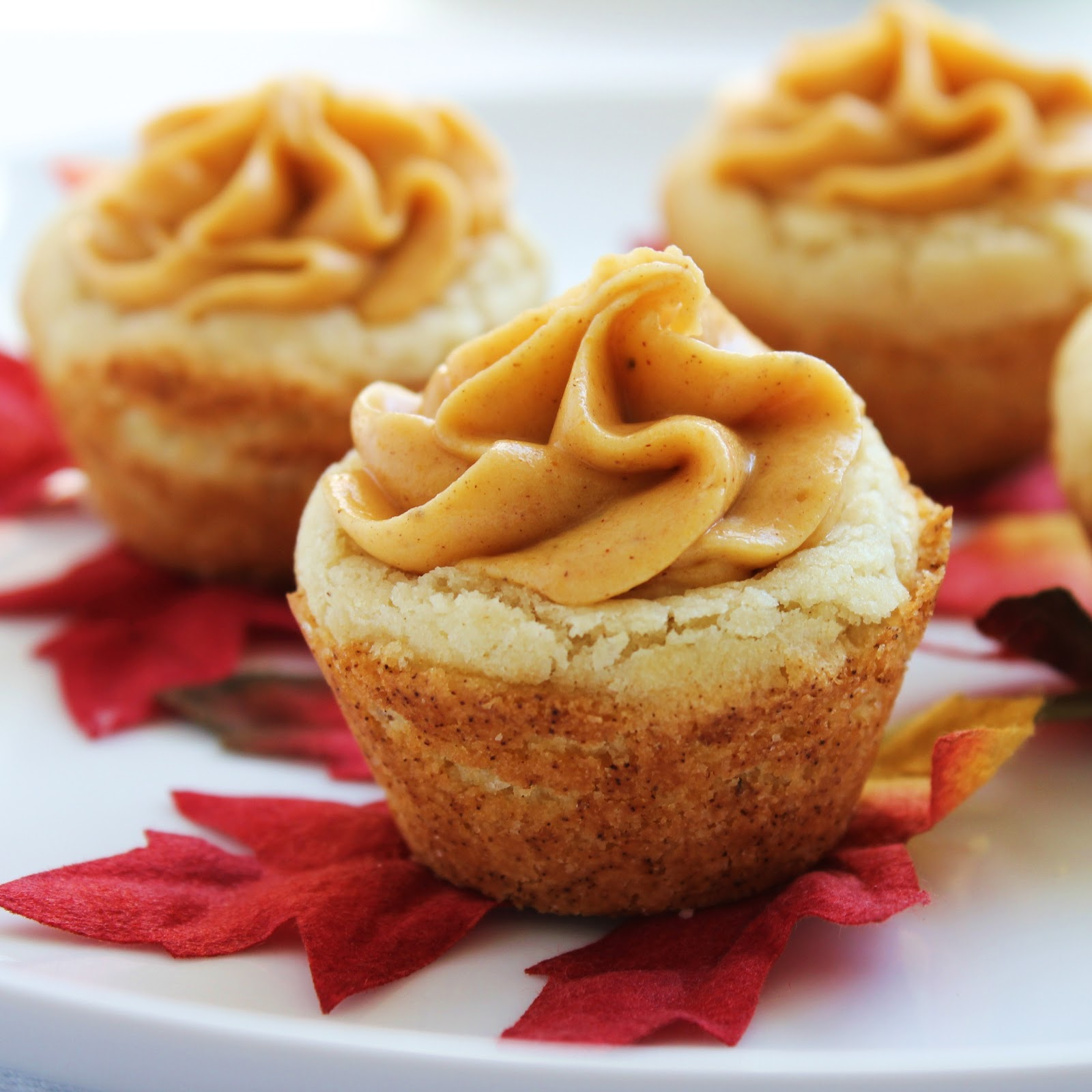 Inspired By Fall: Pumpkin Cookie Cups