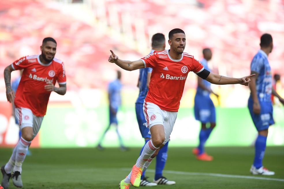 Destaque do Internacional no ano, Thiago Galhardo tem boas chances de mitar na primeira rodada do Cartola FC 2020